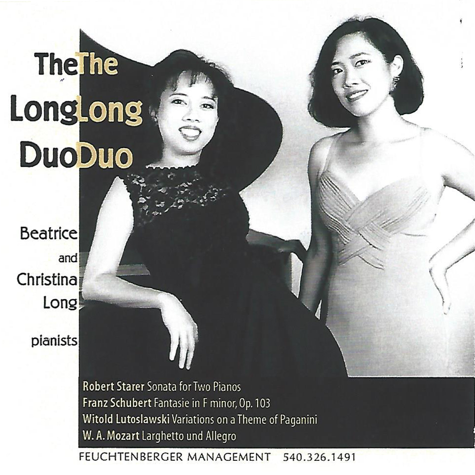 Long Duo pianists, masterpieces for duo